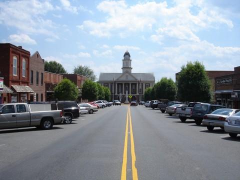 Pittsboro Downtown